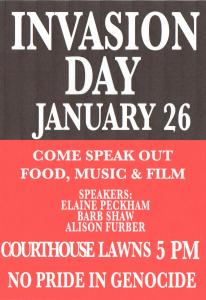 Invasion Day 2015